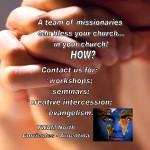 A team of missionaries could bless you and your Church
