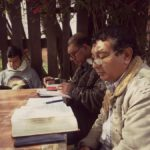 MINISTERS STUDYING THE SCRIPTURES