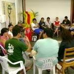 Equipo de líderes de King´s  Kids en Brasil