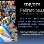 Próxima EDE 7 de Febrero