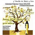 Desfile de Moda y arte: te esperamos el jueves 30 de Agosto en el Hotel Guaraní ~  21:00 !