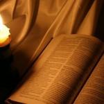 """La biblia, el """"libro de la tapa negra""""."""