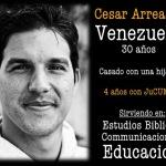 VIDAS TRANSFORMADAS - Cesar Arreaza