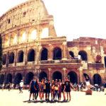 ADOLESCENTES MISIONEROS A ITALIA