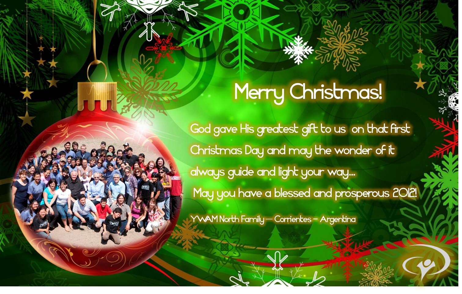 YWAM North » A Special Christmas Greeting from our Family ...